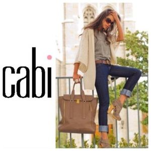 CAbi Jeans 204R Gray Flap Pockets Boot Cut Jeans 4
